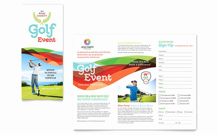 Golf tournament Brochure Template New Use Indesign Templates to Quickly Create Design Projects