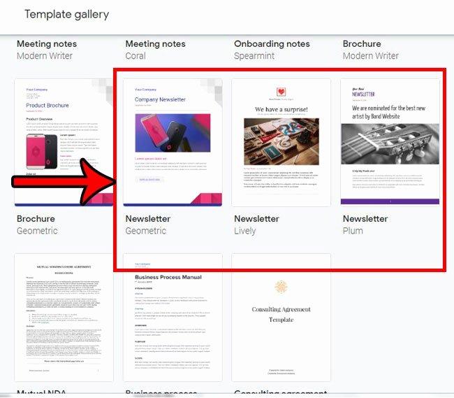 Google Doc Newsletter Template Lovely How to Create A Newsletter Using A Google Docs Newsletter