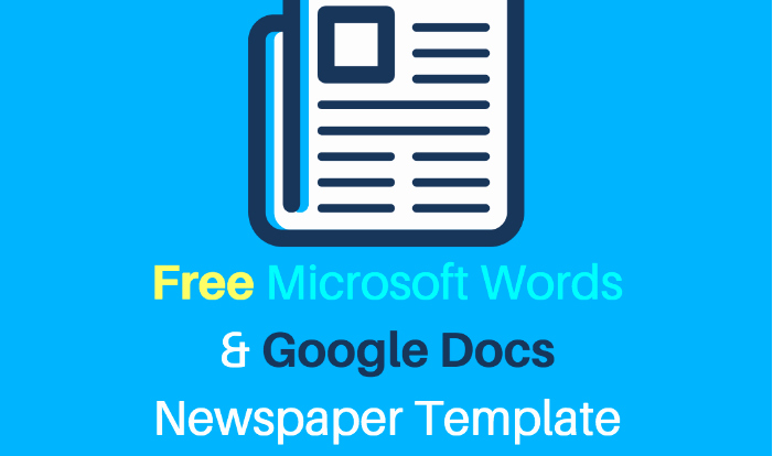 Google Doc Newsletter Template Luxury 25 Free Google Docs Newspaper and Newsletter Template for