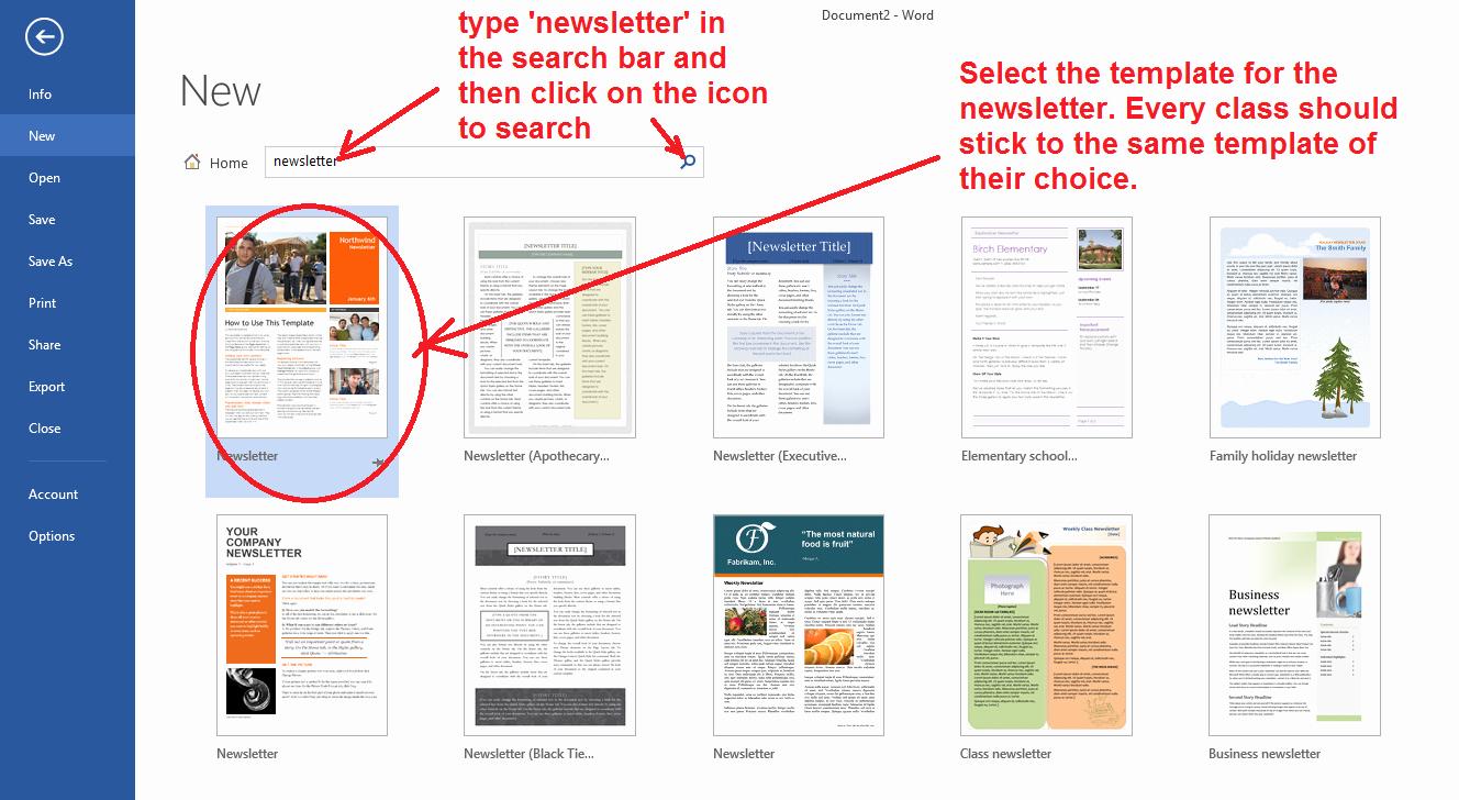 Google Doc Newsletter Template Unique Ezit