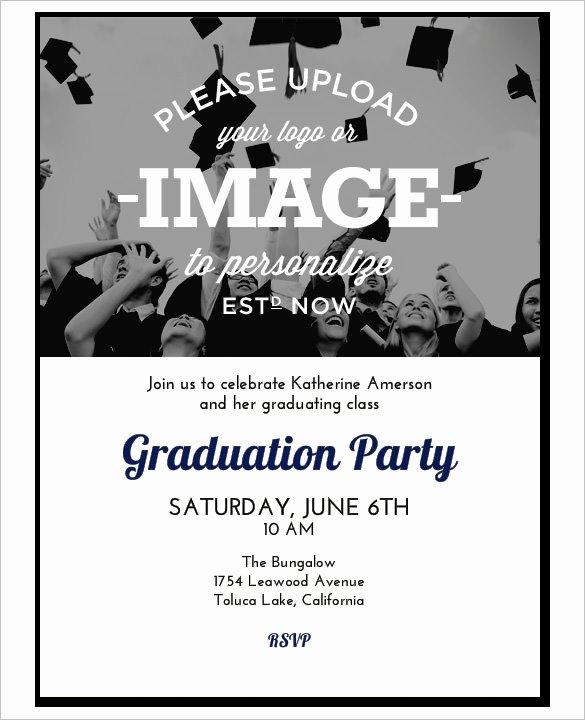 Graduation Invitation Template Word Luxury 37 Invitation Templates Word Pdf Psd Publisher