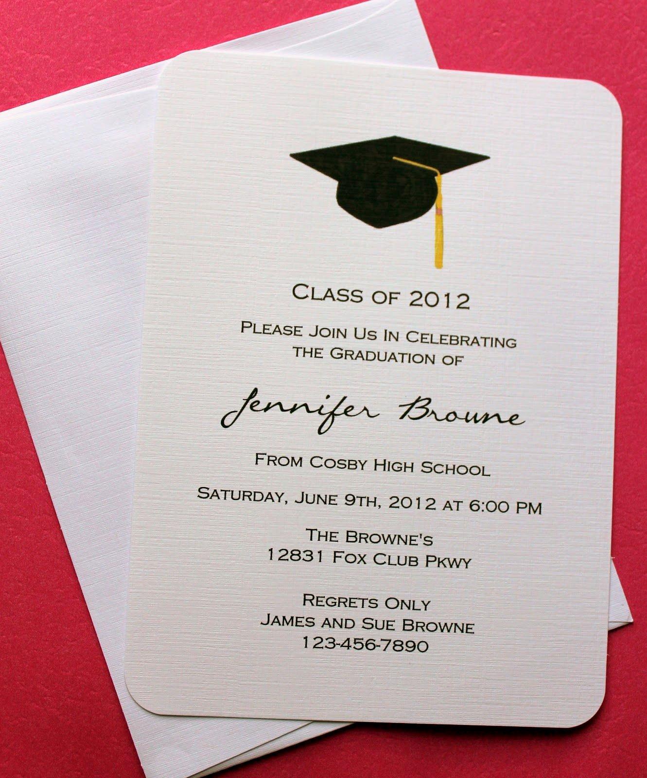 Graduation Invitation Template Word Unique Graduation Invitation Template Graduation Invitation