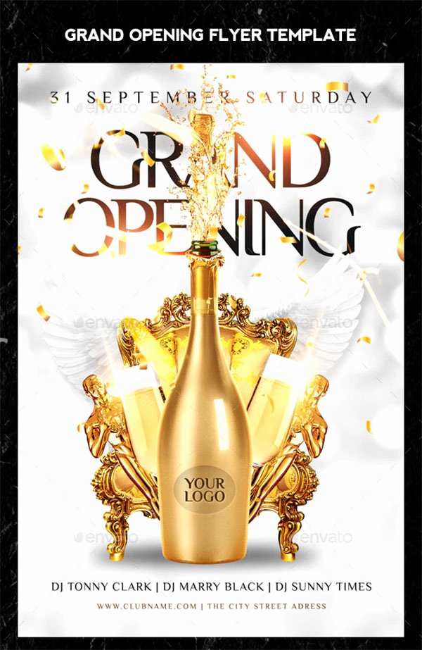 Grand Opening Flyer Template Free Awesome 48 Grand Opening Flyer Templates Free & Premium Psd