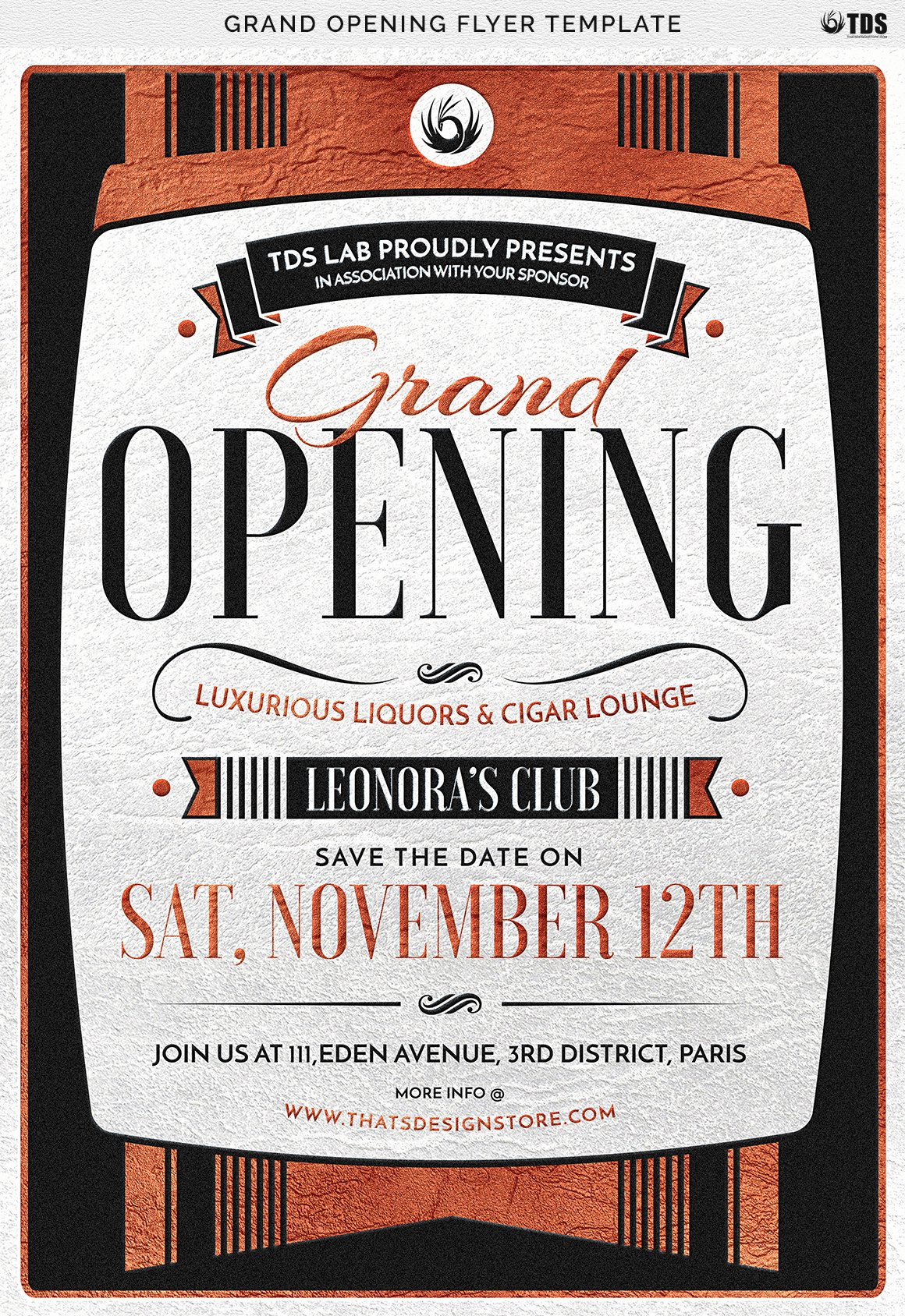 Grand Opening Flyer Template Free Beautiful Grand Opening Flyer Template