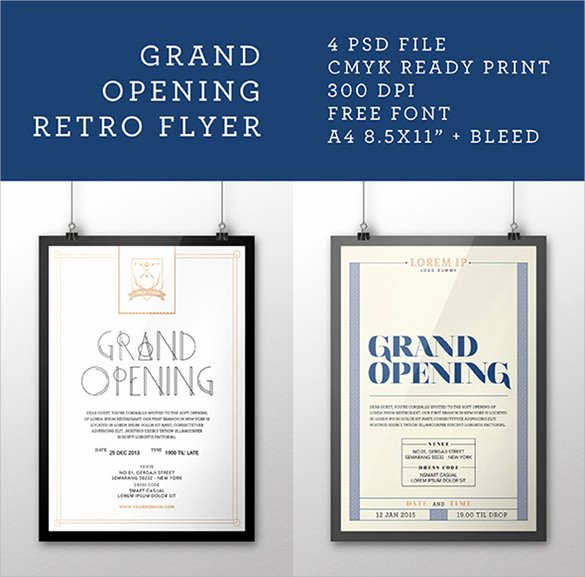 Grand Opening Flyer Template Free Beautiful Grand Opening Flyer Templates 15 Download Documents In