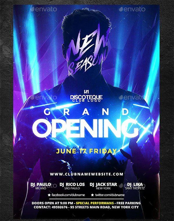 Grand Opening Flyer Template Free Best Of 48 Grand Opening Flyer Templates Free & Premium Psd
