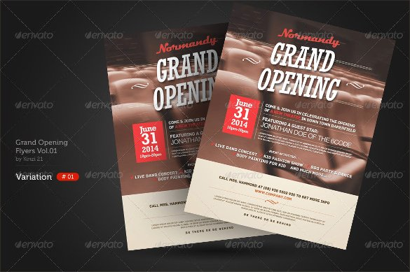 Grand Opening Flyer Template Free Fresh 28 Grand Opening Flyer Templates Psd Docs Pages Ai