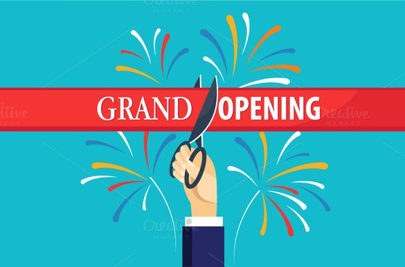 Grand Opening Flyer Template Free Unique 41 Grand Opening Flyer Template Free Psd Ai Vector