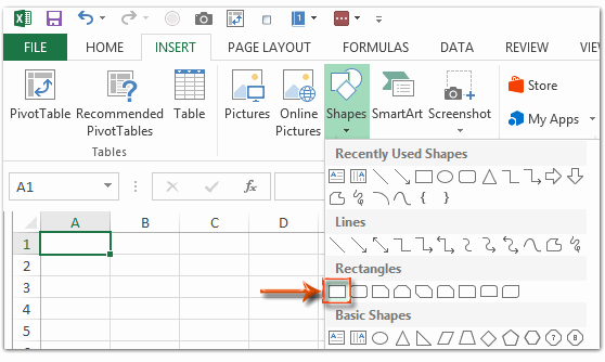 Graph Paper Template Excel Awesome How to Create Grid Paper Square Template In Excel