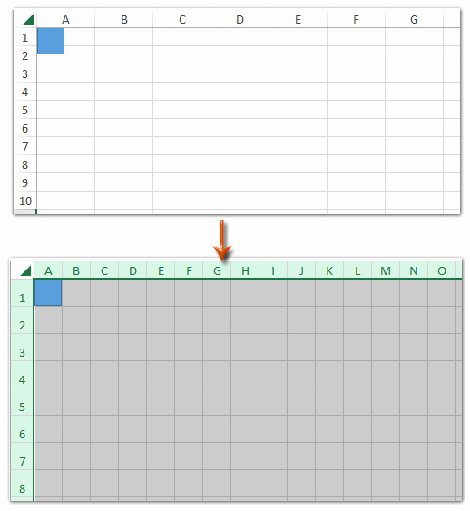 Graph Paper Template Excel Elegant How to Create Grid Paper Square Template In Excel