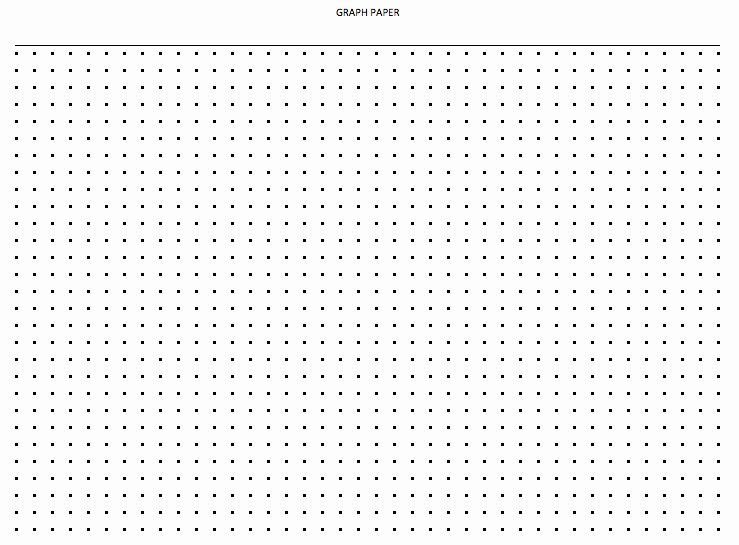 Graph Paper Template Excel Lovely Dot Paper Excel Template Exceltemplate