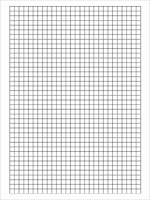Graph Paper Template Pdf Awesome Free 9 Printable Blank Graph Paper Templates In Pdf