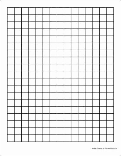 Graph Paper Template Pdf Elegant Free Graph Paper 2 Squares Per Inch Heavy Black From