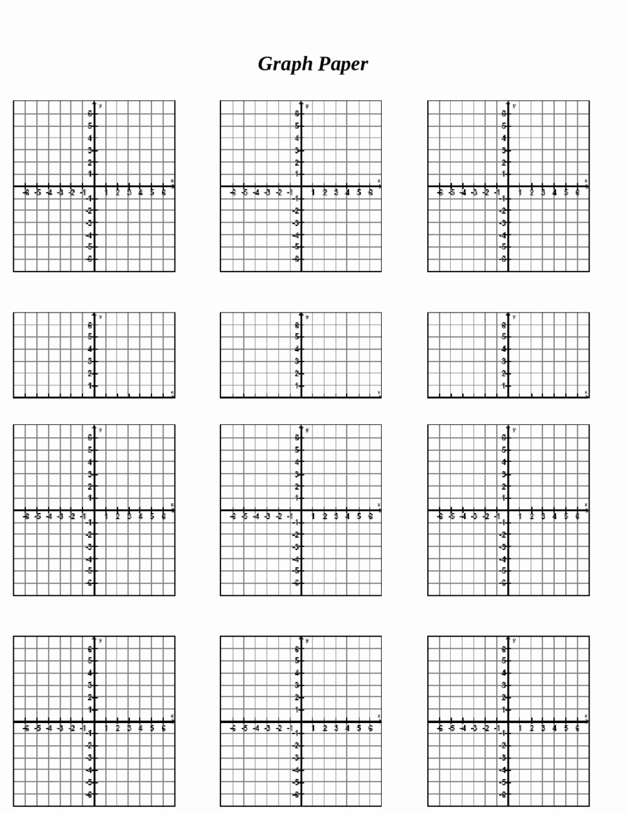Graph Paper Template Pdf Inspirational 2018 Printable Graph Paper Fillable Printable Pdf