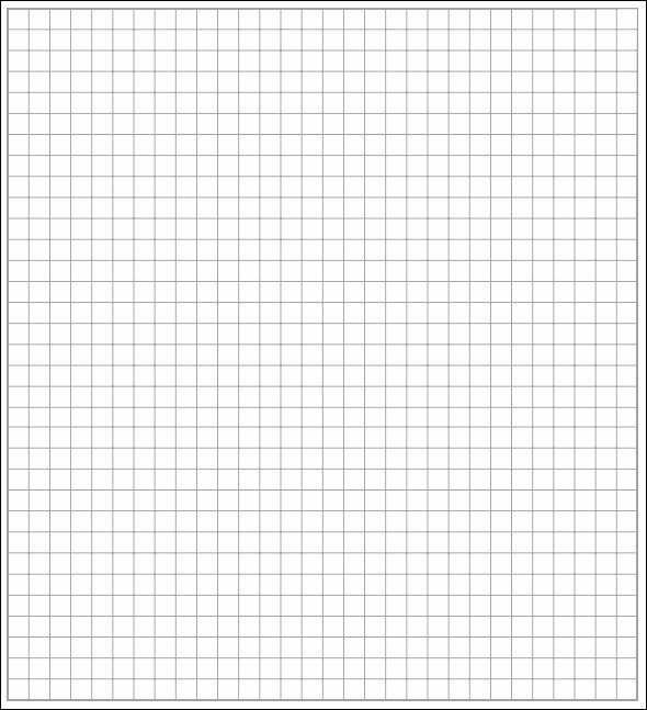 Graph Paper Template Word Inspirational 5 Math Graph Papers