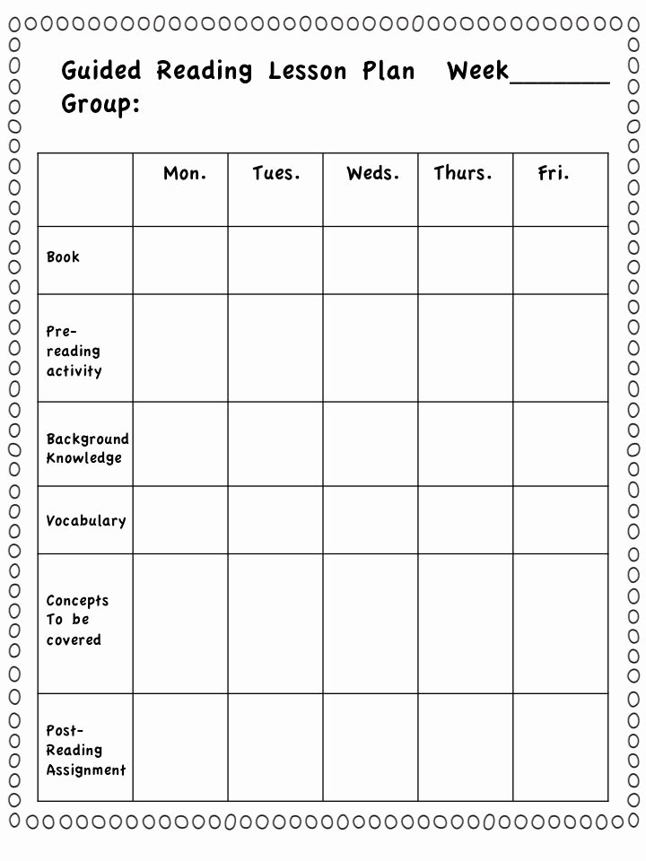 Guided Reading Template Pdf Fresh Best 25 Guided Reading Lessons Ideas On Pinterest