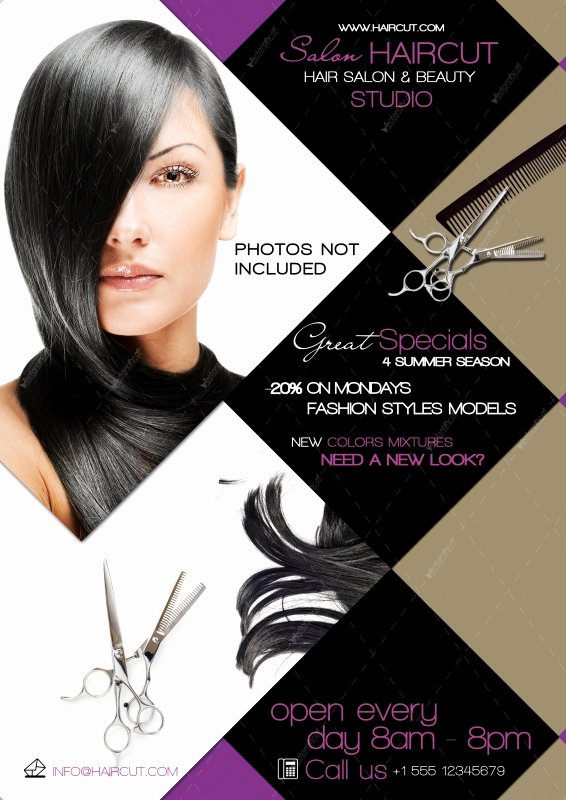 Hair Salon Flyer Templates Free Awesome Free Other Psd File Page 55 Newdesignfile