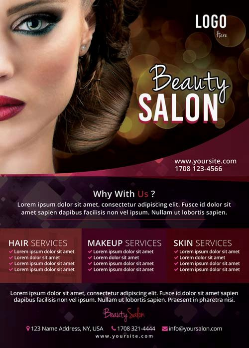 Hair Salon Flyer Templates Free Best Of Download the Free Beauty Salon Flyer Template for Shop