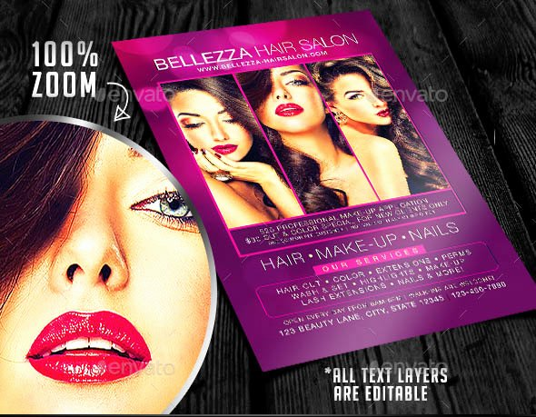 Hair Salon Flyer Templates Free Elegant 27 Cool Flyers Templates for Barber Shop – Desiznworld