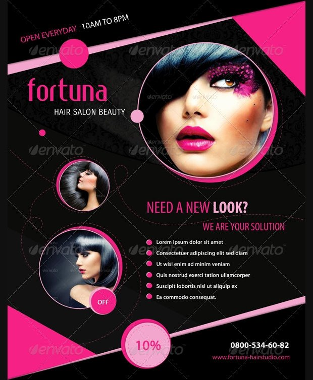 Hair Salon Flyer Templates Free Fresh 29 Hair Salon Flyer Templates and Designs Word Psd Ai