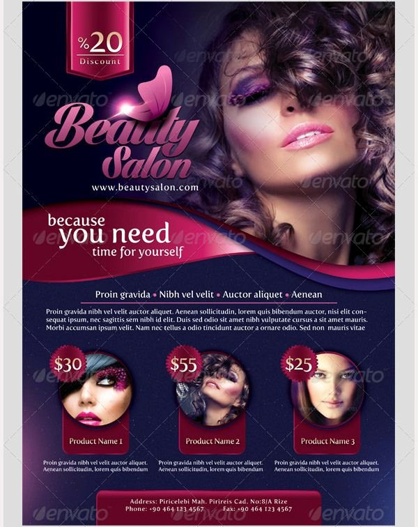 Hair Salon Flyer Templates Free Inspirational Pin by Dineshkumar On Flyer Template