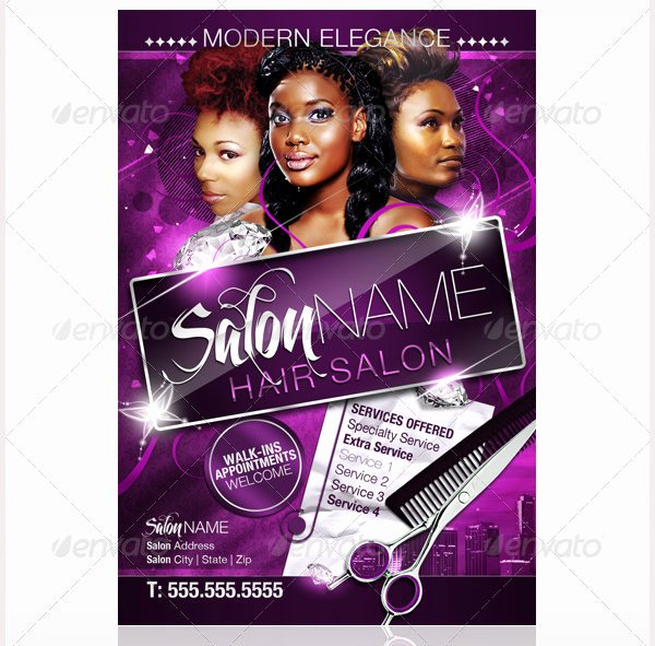 Hair Salon Flyer Templates Free Lovely 78 Beauty Salon Flyer Templates Psd Eps Ai