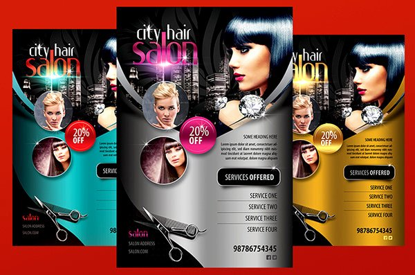 Hair Salon Flyer Templates Free Luxury 78 Beauty Salon Flyer Templates Psd Eps Ai