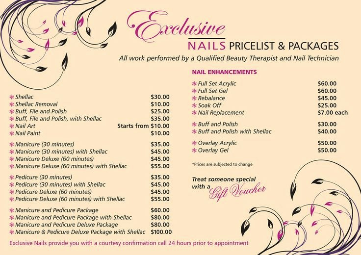 Hair Salon Price List Template Elegant 78 Best Images About Salon Pricing On Pinterest