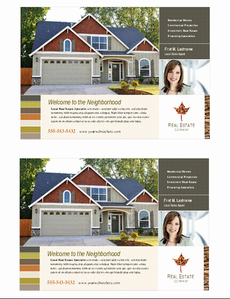 Half Page Flyer Template Free Fresh Real Estate Flyer Half Page 2 Per Page