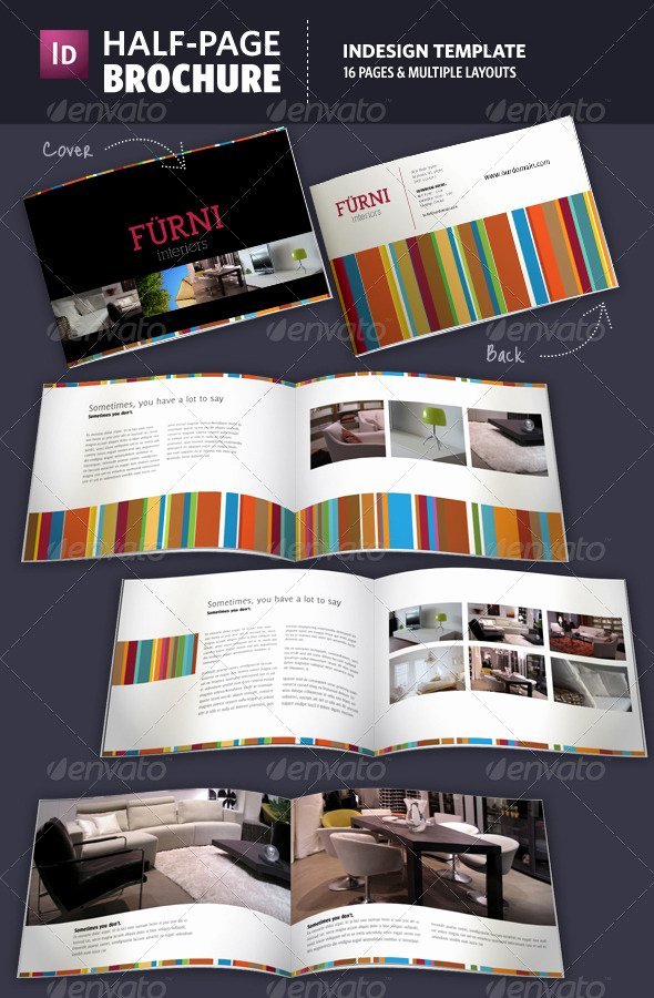 Half Page Flyer Template Free New Half Page Brochure Indesign Template by Adriennepalmer