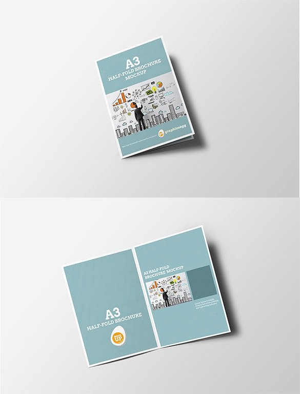 Half Page Flyer Template Free Unique 37 Half Fold Brochure Templates