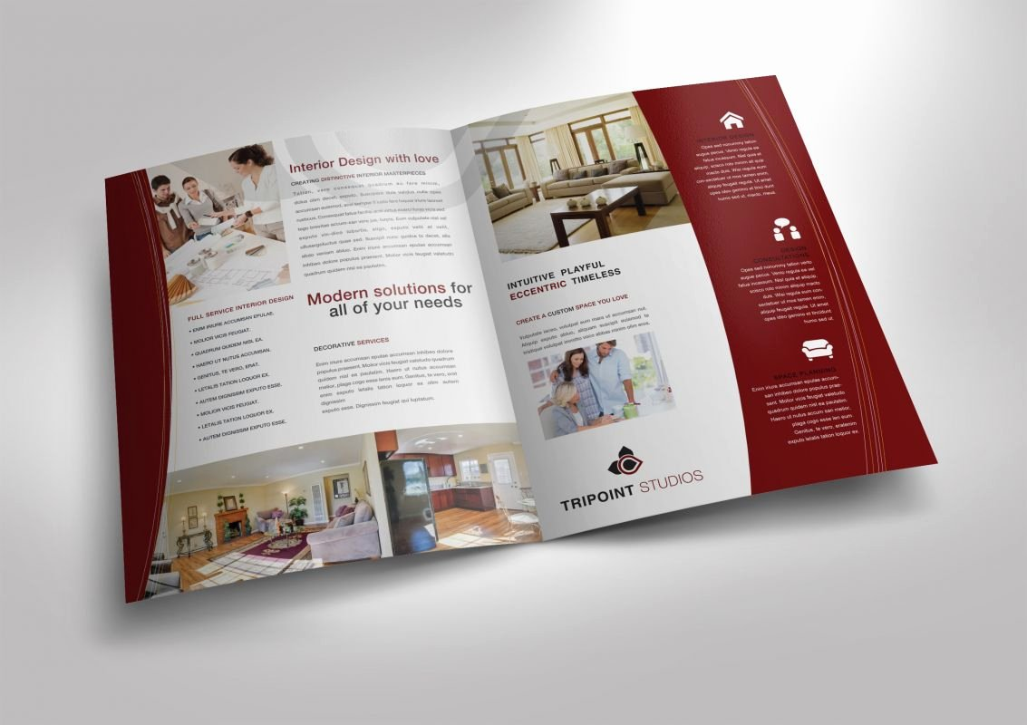 Half Page Flyer Template Free Unique Half Fold Brochure Template for Design Pany Marketing