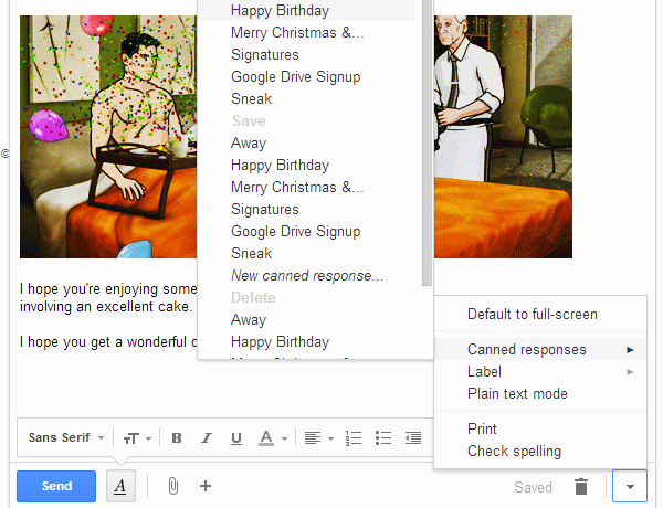 Happy Birthday Email Template Awesome 4 Ways to Creatively Use Canned Responses for Email