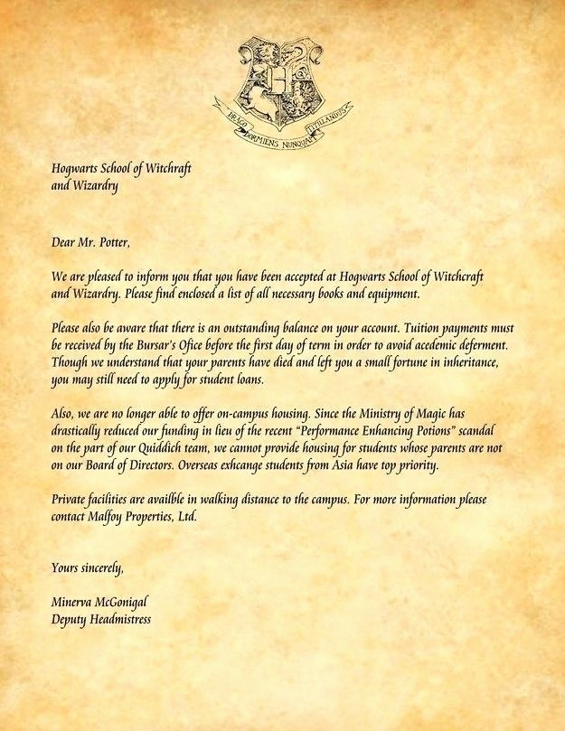 Harry Potter Letter Template Beautiful Hogwarts Letter Template Happybirthdaybilly