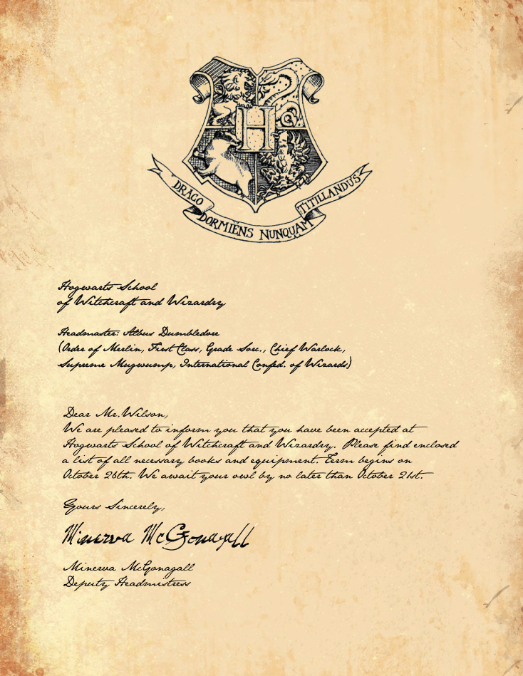 Harry Potter Letter Template Luxury Harry Potter Party – Part 1 the Invites – Filthy Muggle