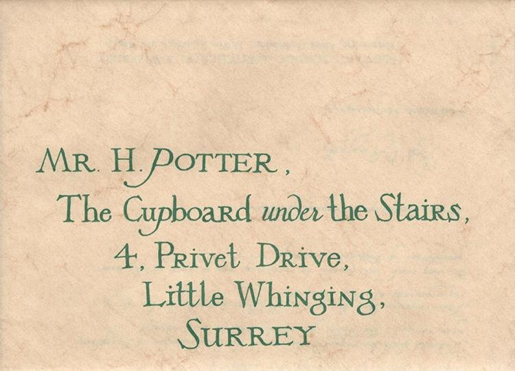 "Harry Potter Letter Template Unique D Radcliffe "" Harry"" Hogwarts Acceptance Letter From Harry"