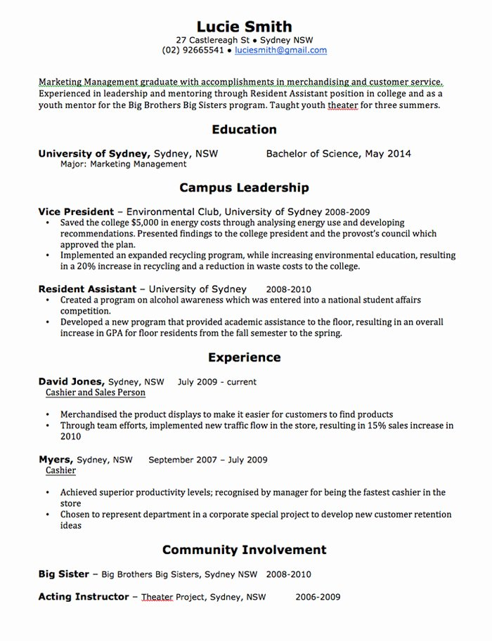 High School Resume Template Word Unique Cv Template