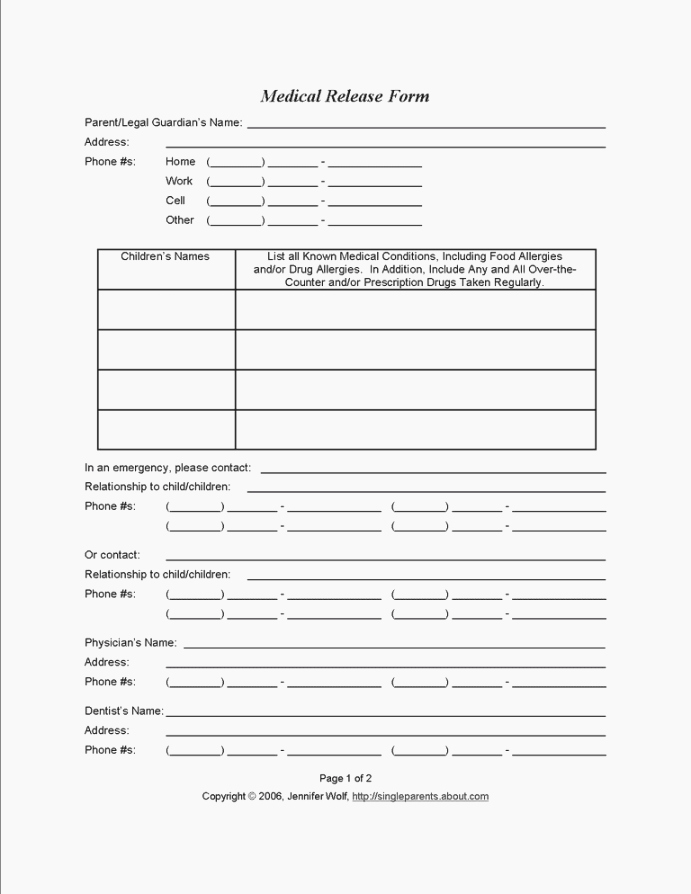 Hipaa Release form Template Fresh Best 44 Eloquent Printable Hipaa Release form