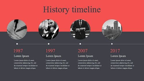 History Timeline Template Word Beautiful 15 Best Timeline Templates Free Editable