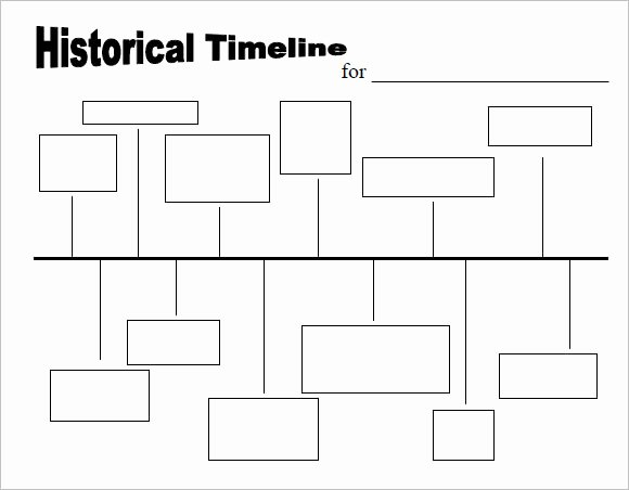 History Timeline Template Word Beautiful 9 Timeline Templates for Kids – Samples Examples format
