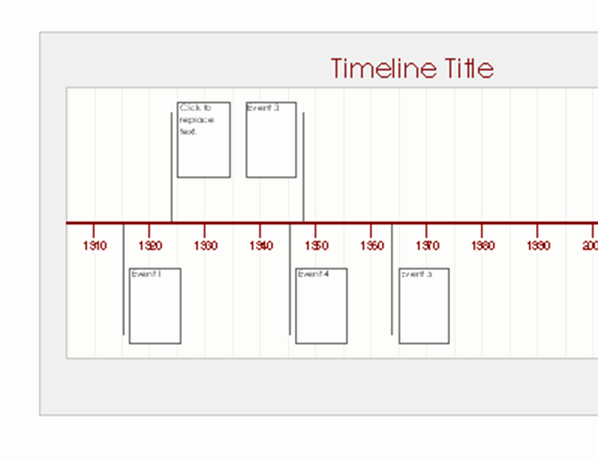 History Timeline Template Word Best Of Timelines Fice