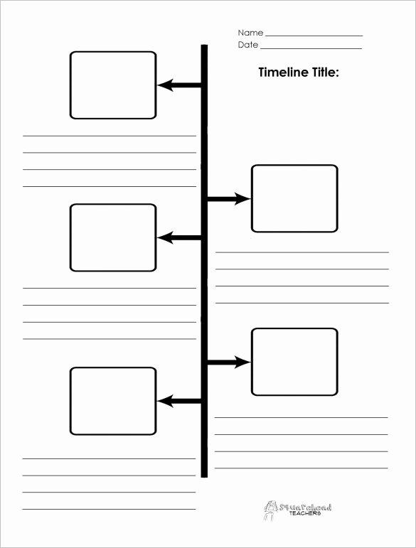 History Timeline Template Word Elegant 47 Blank Timeline Templates Psd Doc Pdf