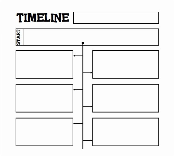 History Timeline Template Word New 6 Sample Timelines for Kids Pdf Word