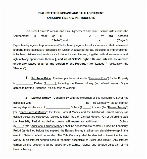 Home Purchase Agreement Template Unique Sales Agreement Template 22 Word Pdf Google Docs