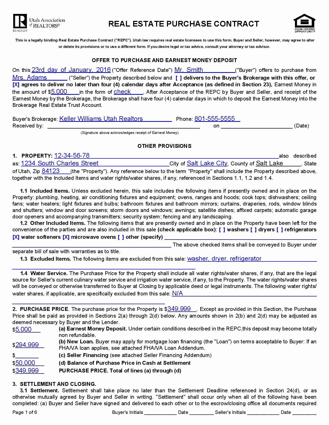 Home Purchase Contract Template Inspirational Real Estate Purchase Agreement Template