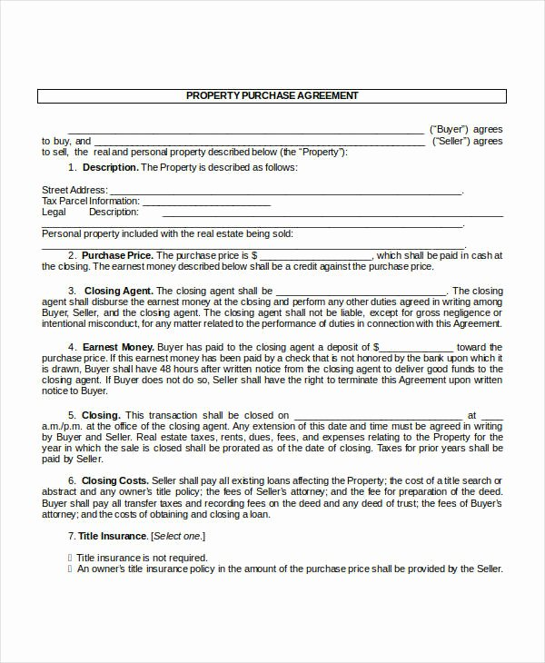 Home Purchase Contract Template Unique 13 Purchase Contract Templates Word Pdf Google Docs