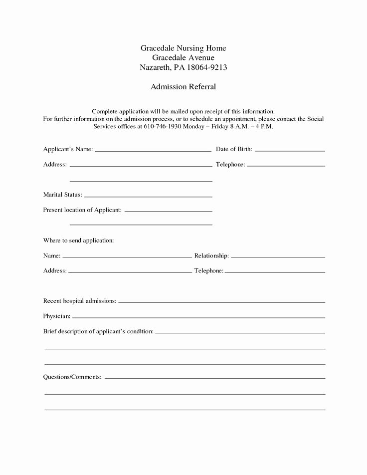 Hospital Discharge form Template Beautiful Hospital Discharge Template Download