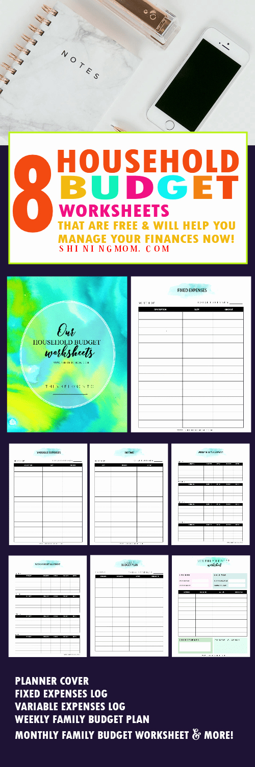 Household Budget Template Printable Luxury Free Printable Household Bud Template that Works