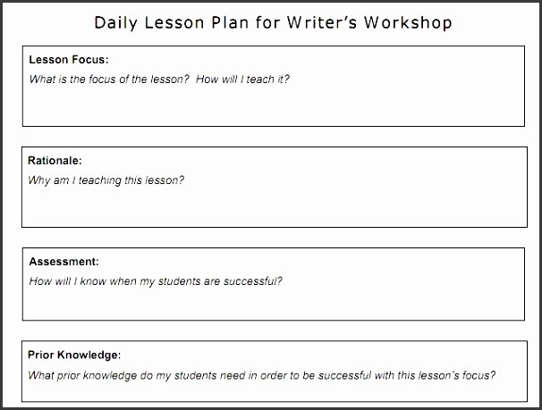 Hunter Lesson Plan Template Unique 7 Madeline Hunter Lesson Plan Template Sampletemplatess