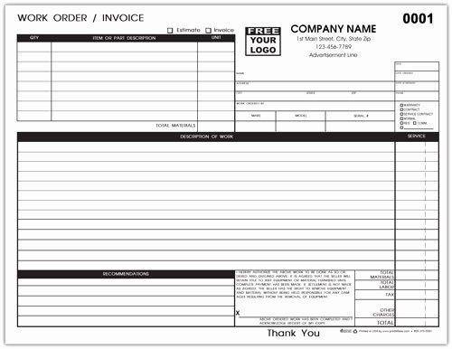 Hvac Service order Invoice Template Luxury Hvac Repair Invoice 883 B